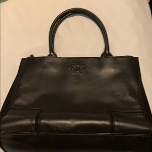 Tory Burch Black Tote Bag
